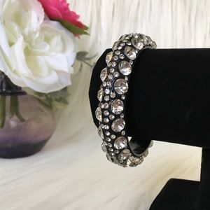 Rhinestone Statement Bangle
